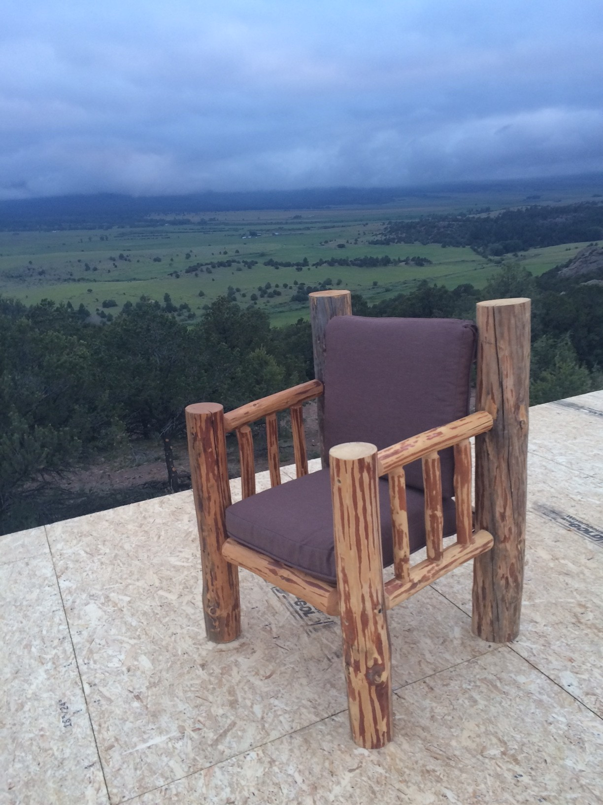 This Is My U201cprayer Chairu201d. Can You See The Mountains In The View Behind?  No?,u2026. Neither Can I. Thatu0027s Why I Need A Prayer Chair.